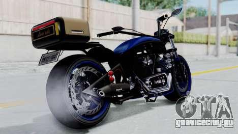 Turbike 4.0 для GTA San Andreas вид слева