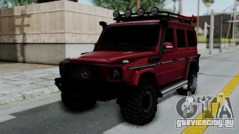 Mercedes-Benz G500 Off-Road v2.0 для GTA San Andreas