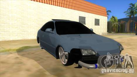 Honda Civic Coupe 1995 для GTA San Andreas вид сзади