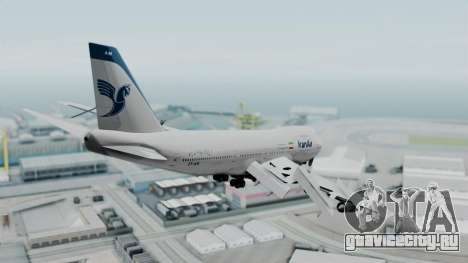 Boeing 747-186B Iran Air для GTA San Andreas вид справа