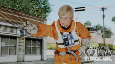 SWTFU - Luke Skywalker Pilot Outfit для GTA San Andreas