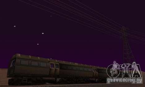 Batman Begins Monorail Train Vagon v1 для GTA San Andreas салон