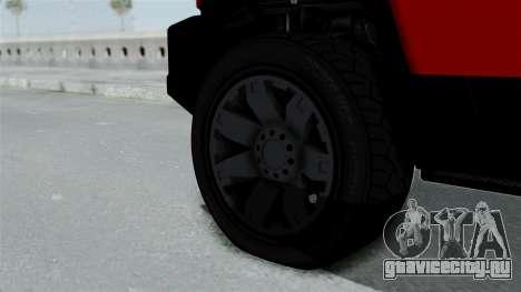 GTA 5 Karin Beejay XL для GTA San Andreas вид сзади слева