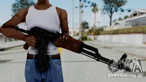 New HD AK-47 для GTA San Andreas третий скриншот