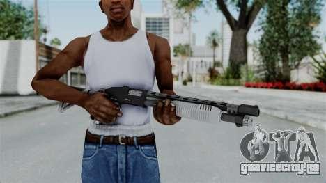 GTA 5 Pump Shotgun - Misterix 4 Weapons для GTA San Andreas третий скриншот