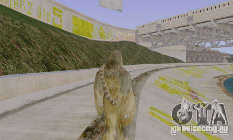 Chewbacca для GTA San Andreas третий скриншот