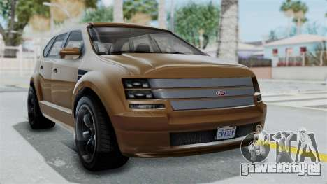 GTA 5 Vapid Radius для GTA San Andreas
