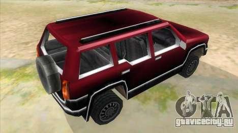GTA III Landstalker для GTA San Andreas вид справа