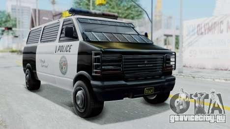 GTA 5 Declasse Burrito Police Transport IVF для GTA San Andreas