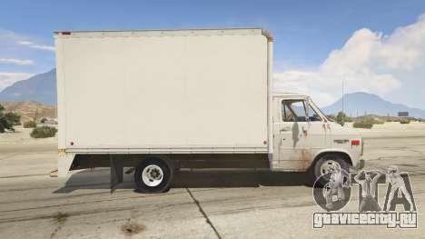 Chevrolet G-30 Cube Truck для GTA 5 вид слева