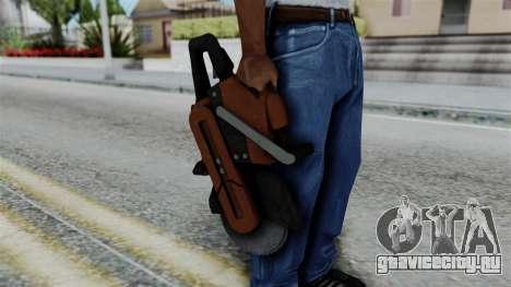 No More Room in Hell - Abrasive Saw для GTA San Andreas третий скриншот