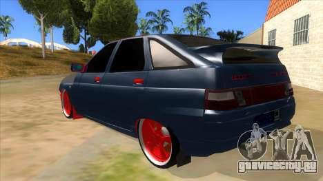 ВАЗ 2112 Бродяга для GTA San Andreas вид сзади слева