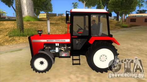 Massley Ferguson Tractor для GTA San Andreas вид слева