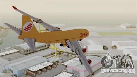 GTA 5 Jumbo Jet v1.0 Adios Airlines для GTA San Andreas вид справа
