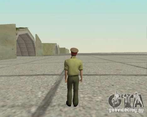 Офицер ВС РФ для GTA San Andreas третий скриншот