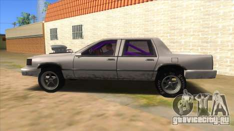 Stretch Sedan Drag для GTA San Andreas вид слева
