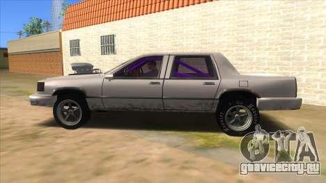 Stretch Sedan Drag для GTA San Andreas вид слева
