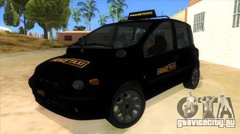 Fiat Multipla FAKETAXI для GTA San Andreas