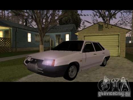 Ваз 21099 Без Посадки Авто Net для GTA San Andreas