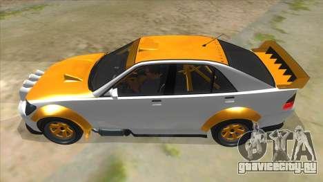 GTA V Karin Sultan RS 4 Door для GTA San Andreas вид слева