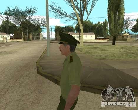 Старший прапорщик Данилюк для GTA San Andreas шестой скриншот