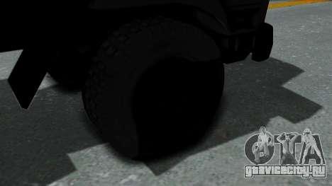 FAP Vojno Vozilo v2 для GTA San Andreas вид сзади слева