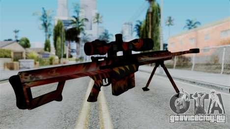 Barret 50.cal Phoenix для GTA San Andreas второй скриншот