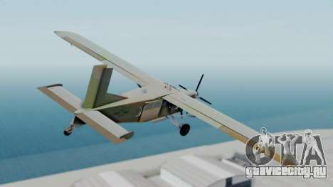 PC-6 USAF Markings для GTA San Andreas вид слева