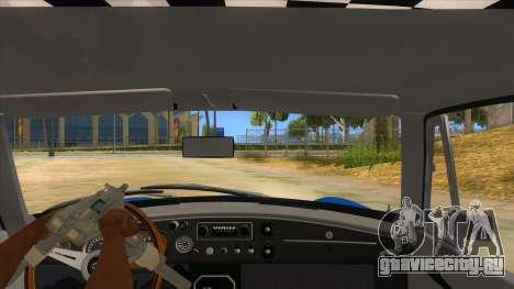 Richard Hammond MGB GT Top Gear для GTA San Andreas вид изнутри