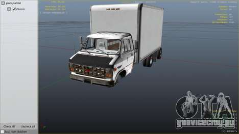Chevrolet G-30 Cube Truck для GTA 5 вид справа