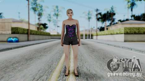 Female Skin 1 from GTA 5 Online для GTA San Andreas второй скриншот