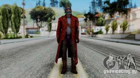 Marvel Future Fight - Star-Lord для GTA San Andreas второй скриншот