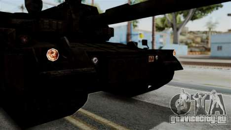 Point Blank Black Panther Rusty IVF для GTA San Andreas вид сзади