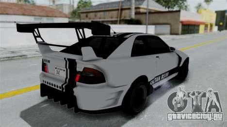 GTA 5 Karin Sultan RS Drift Double Spoiler PJ для GTA San Andreas вид снизу