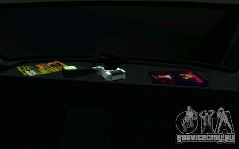 Ваз 2107 Такси для GTA San Andreas вид справа