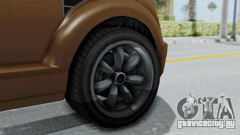 GTA 5 Vapid Radius для GTA San Andreas вид сзади слева