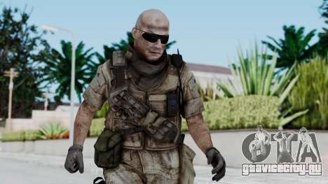 Crysis 2 US Soldier FaceB2 Bodygroup B для GTA San Andreas