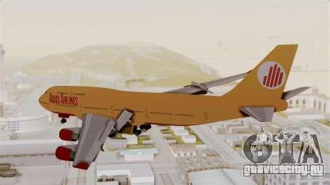 GTA 5 Jumbo Jet v1.0 Adios Airlines для GTA San Andreas вид слева