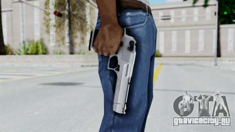Pouxs Desert Eagle v2 Chrome для GTA San Andreas