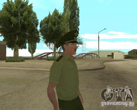 Старший прапорщик Данилюк для GTA San Andreas четвёртый скриншот