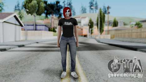 Female Skin 2 from GTA 5 Online для GTA San Andreas второй скриншот