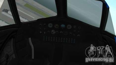 GTA 5 Vestra для GTA San Andreas вид справа