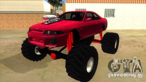 Nissan Skyline R33 Monster Truck для GTA San Andreas