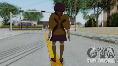 Scooby Doo Velma для GTA San Andreas третий скриншот