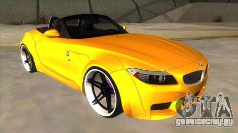 BMW Z4 Liberty Walk Performance для GTA San Andreas вид сзади