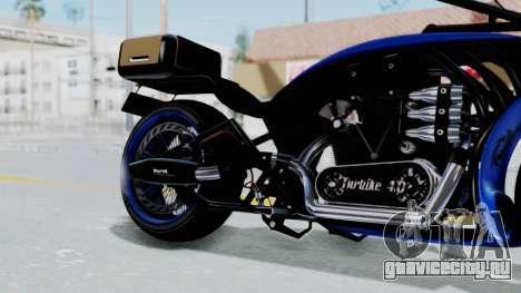 Turbike 4.0 для GTA San Andreas вид справа