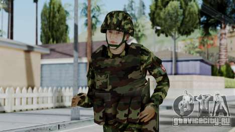 Srpski Vojnik 1999 для GTA San Andreas