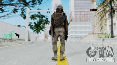 Crysis 2 US Soldier 1 Bodygroup B для GTA San Andreas третий скриншот