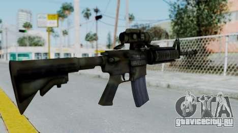 Arma2 M4A1 CCO Camo для GTA San Andreas второй скриншот