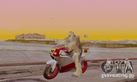 Chewbacca для GTA San Andreas второй скриншот
